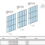 Curtain Wall Doors – Scheduling Host Level… Heads Up