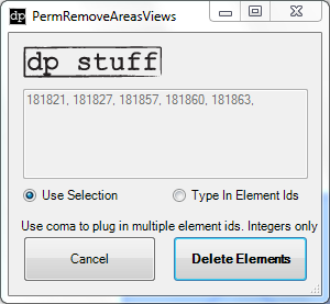 PermRemoveAreasRooms 2014 Revit Addin from dp Stuff
