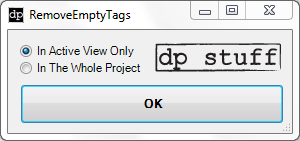 RemoveEmptyTags 2013 Revit Addin