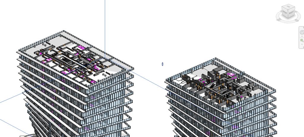 Grove at Grand Bay - Revit Model - Towers' Layout