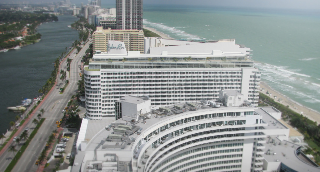 Versailles Hotel Miami Beach - VIP Suites Addition. Bird's eye view.