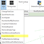 CopySelectionIds 2014 Revit Addin